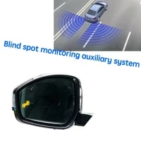 car bsm blind area spot warning drive mirror rear radar detection system for land for rover discovery sport lr l550 20142019