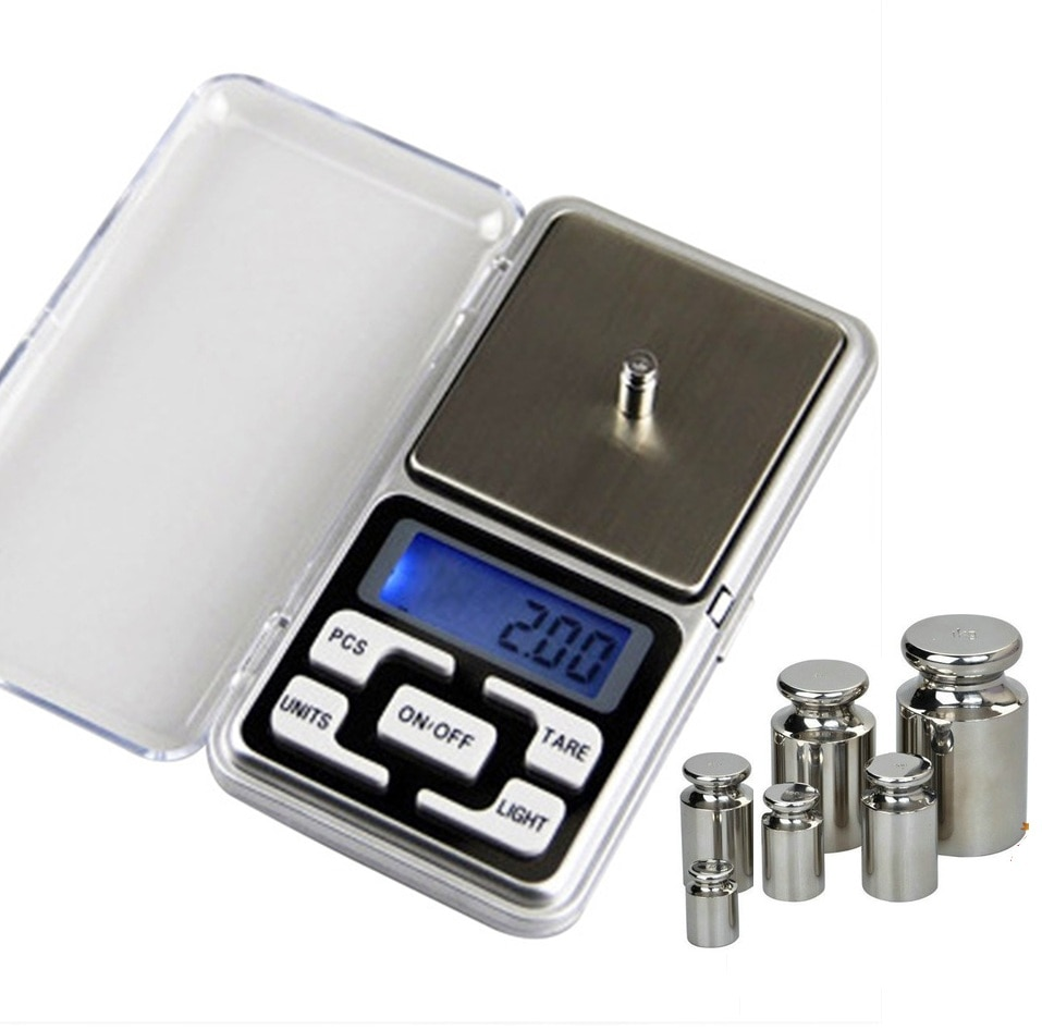 200g/300g/500g x 0.01g New Mini Pocket Digital Scale for Gold Sterling Silver Jewelry Scales Balance