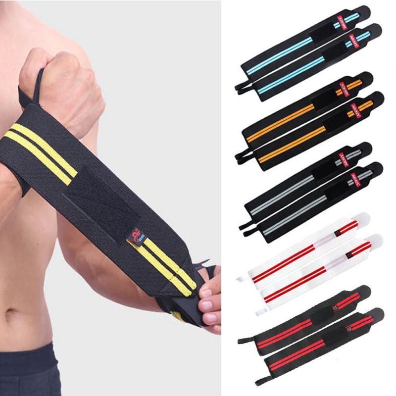 Banda ajustable para muñeca protección para manos envolturas Powerlifting vendaje de culturismo muñequera deportiva elástica soporte para muñeca