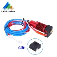 ender 3cr10cr10s 1 75mm j head hotend kit aluminum heat block with heater thermistor for 3d printer with 0 4mm nozzle part