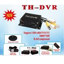 TH-DVR AHD TVI CVI 1080P/720P 128GB grand stockage TF/carte SD Mini DVR H.264 HDMI USB CCTV caméra enregistreur vidéo HC-DVR