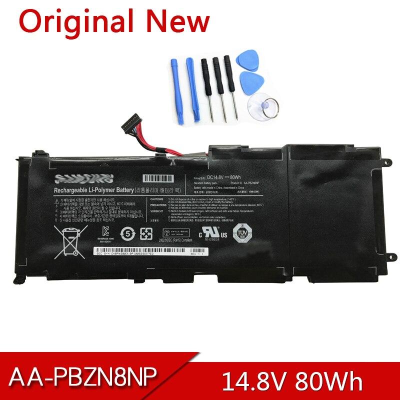 AA-PBZN8NP الأصلي بطارية كمبيوتر محمول ل سامسونج 7 Np-700 700z Np700z7c Np700z5b BA43-00318A 1588-3366 14.8V 80Wh