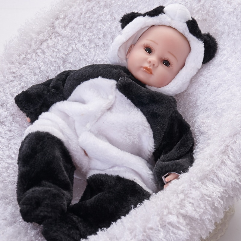 دمية حديثي الولادة بشعر قصير ، 45 سنتيمتر ، واقعية ، صناعة يدوية ، طفل رضيع ، طفل رائع ، طفل صغير ، لعبة ، هدية