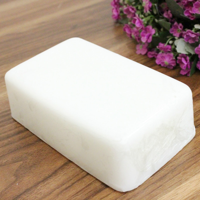 800g Natural pure plant organic soap base material high hardness white base raw material DIY handmad