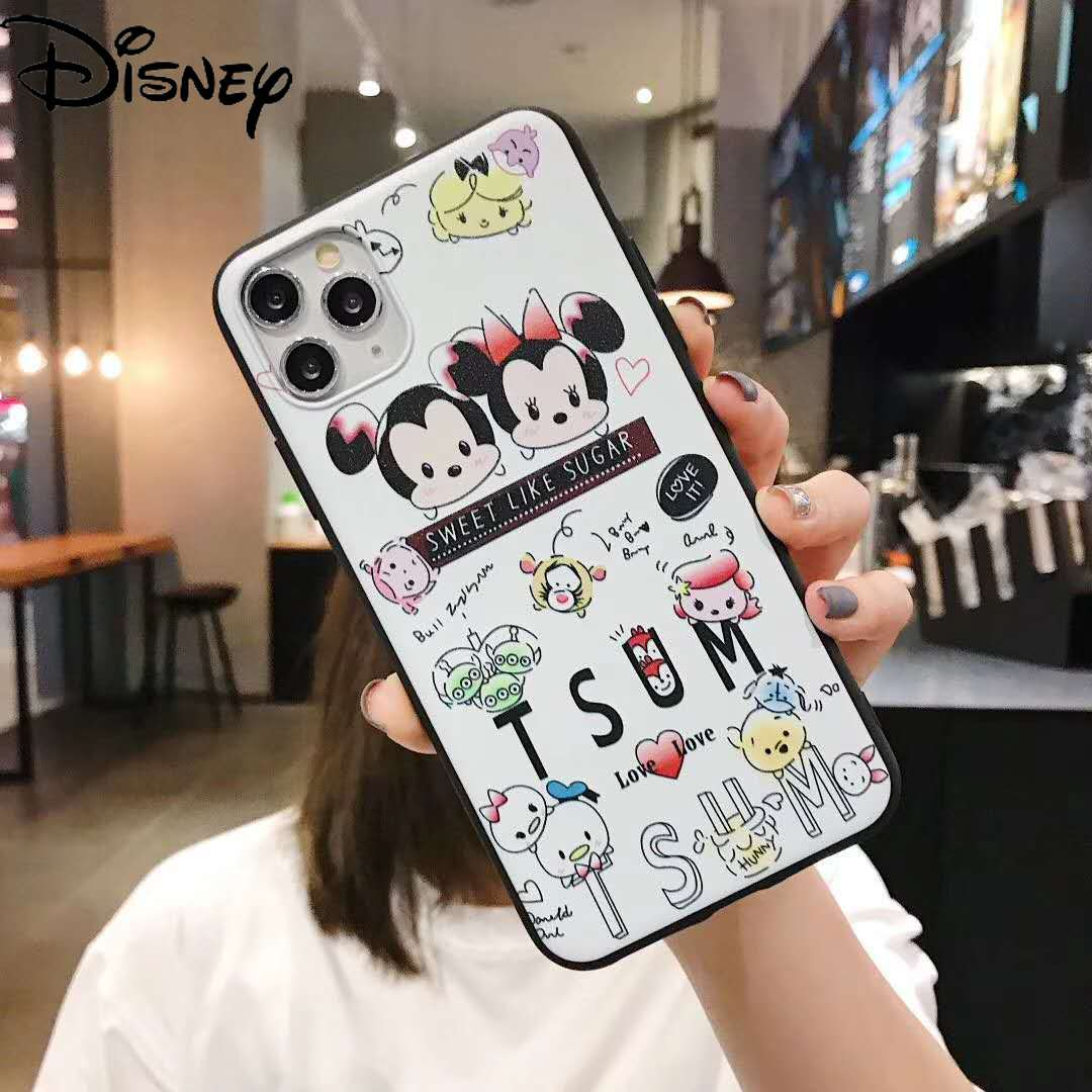 Disney Mobile Phone Case for Iphone 11 Cute Cartoon Couple Mobile Phone Case for Iphone 8 Plus Mobile Phone Case  - buy with discount