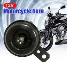 Kit clacson elettrico universale per moto 12V 1.5A 105db altoparlanti a tromba forte rotondi impermeabili per Scooter ciclomotore Dirt Bike ATV