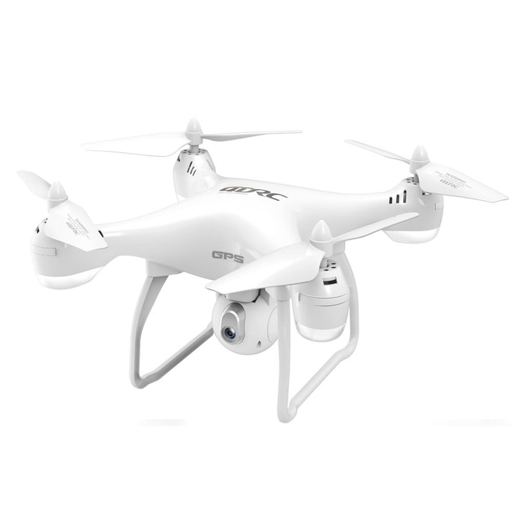 4DRC blanco Quadcopter plástico Control remoto WIFI HD GPS navegación alta definición regalo inteligente profesional práctico FPV Cámara
