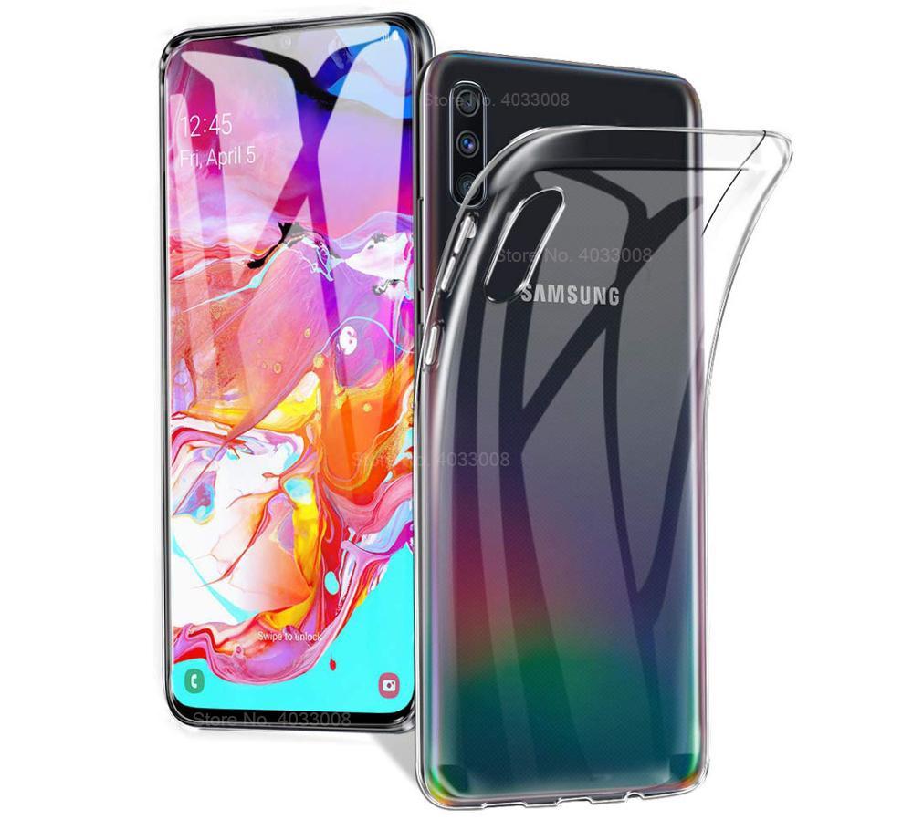 Transparent Ultra Thin Soft TPU Case For Samsung Galaxy A71 A51 A70 A50 A40 A30 A20S A10S M20 S20 S10 S9 S8 Plus A6 A8 A7 2018