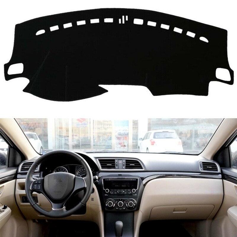 Для Suzuki Ciaz 2014-2018 крышка приборной панели коврик панель dashmat Dash крышка Солнцезащитный козырек инструмент защита ковра аксессуары для стайлинга автомобилей