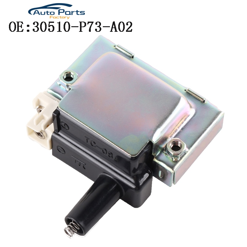 Катушка зажигания для Honda Civic Accord CRV Acura Integra 30510-P73-A02 30510-P73-A01 30510-PT2-006 TC-08A UF244 UF89 5C1004 C873