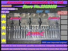 Aoweziic 100% новая импортная оригинальная STP13NM60N 13NM60N STP15NM60ND 15NM60ND STP36NF06L P36NF06L STP80NF55-06 P80NF55-06 TO-220