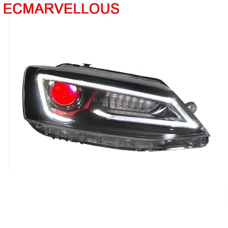 Cob Drl Assessoires Neblineros Para Auto Exterior faros Led montaje de luces de coche 12 13 14 15 16 17 18 Para Volkswagen Sagitar