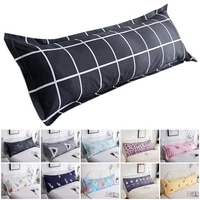 new twin bedding pillowcase cotton 1 21 51 8 meters long pillows case geometric print bedding sets for lovers wedding pillows