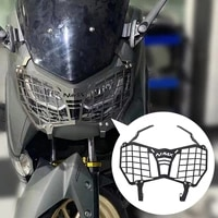 semspeed n max 2021 headlight head light protection cover for nmax 125 n max 155 2021 protection motor grille guard cover newest