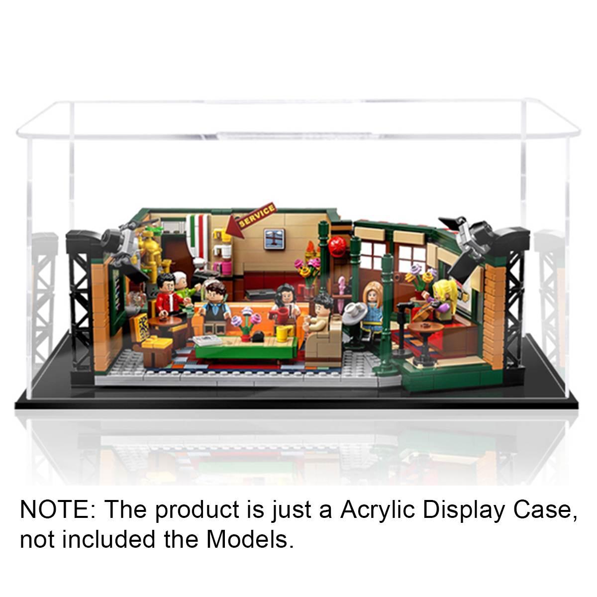 لتقوم بها بنفسك صندوق عرض أكريليك فقط علبة عرض ليغو 21319 لعبة بناء أصدقاء بيرك المركزية (نموذج غير مدرج)