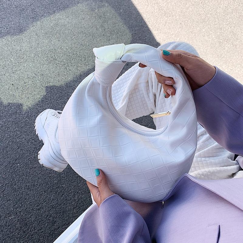 Small PU Leather Elegant Handbags For Female Women 2021 Trending Branded Design Totes Bags Ladies Tr