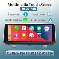 10 25 wrieless apple carplay android auto car multimedia for bmw series 34 f30 f31 f32 f33 f34 f36 head unit ips screen