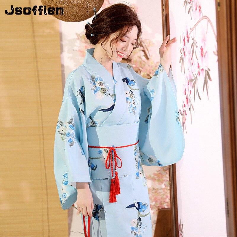 فستان سهرة يوكاتا مع أوبي للسيدات ، زي تنكري ياباني عالي الجودة ، رداء حمام زهري ، اتجاه وطني