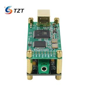 Image 4 - TZT для любовного интерфейса + ES9038Q2M аудио декодер плата аудио HiFi USB Звуковая карта Поддержка DSD256 PCM 384Khz