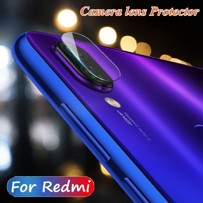 Cmera защита для стекла объектива для Xiaomi Redmi Note 7 8 Pro Redmi 7 7A глобальная Версия защитная задняя пленка для экрана