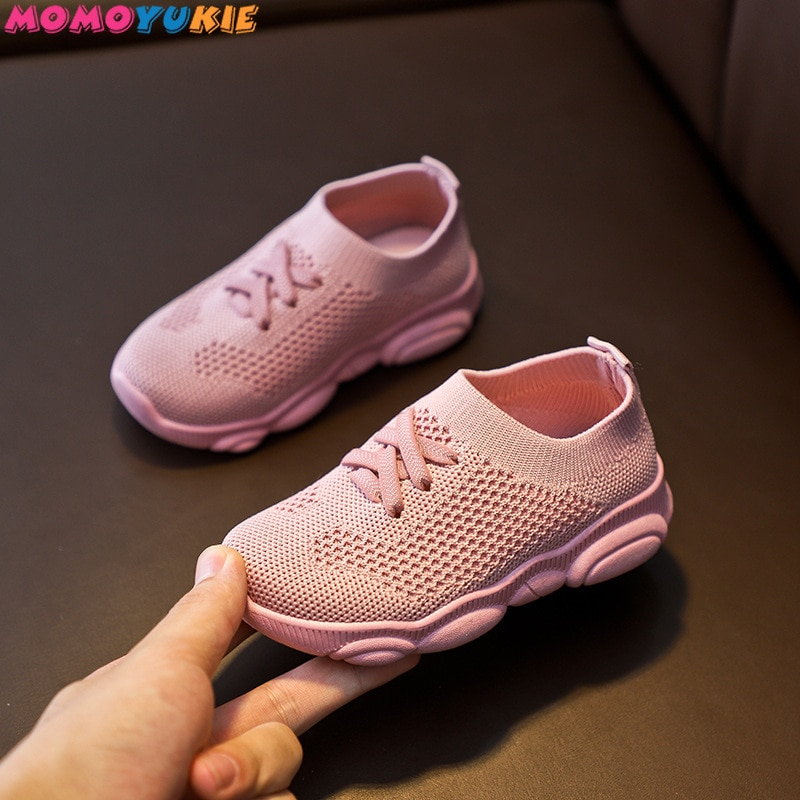 Kids Shoes Anti-slip Soft Rubber Bottom Baby Sneaker Casual Flat Sneakers Shoes Children size Kid Gi