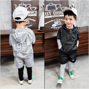 Boys clothing set baby boy clothes children spring and autumn children's cotton casual fashion suit 2-6 years old
