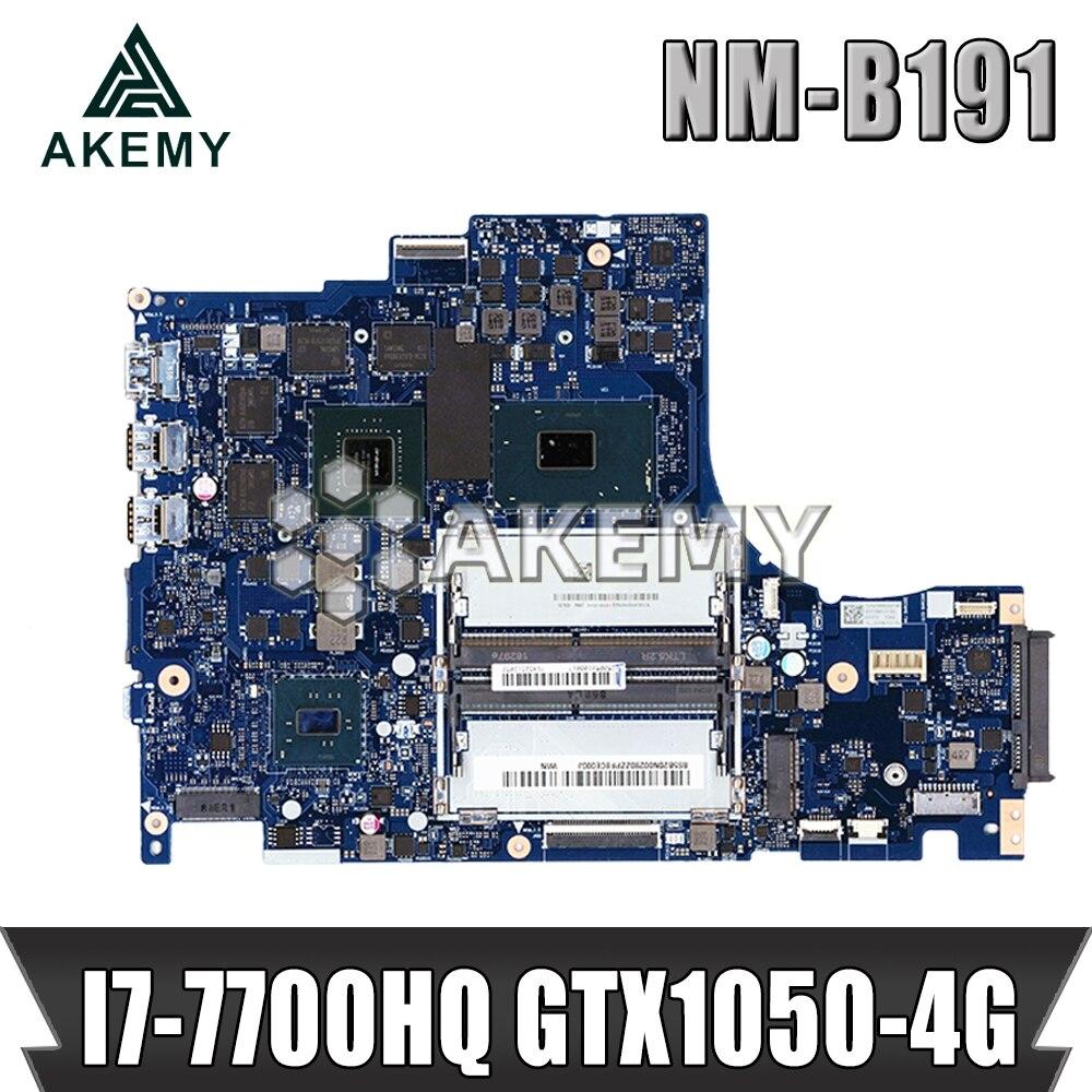 NM-B191 placa base original para For Lenovo Y520-15IKBN con I7-7700HQ GTX1050-4GB tarjeta placa base de computadora portátil