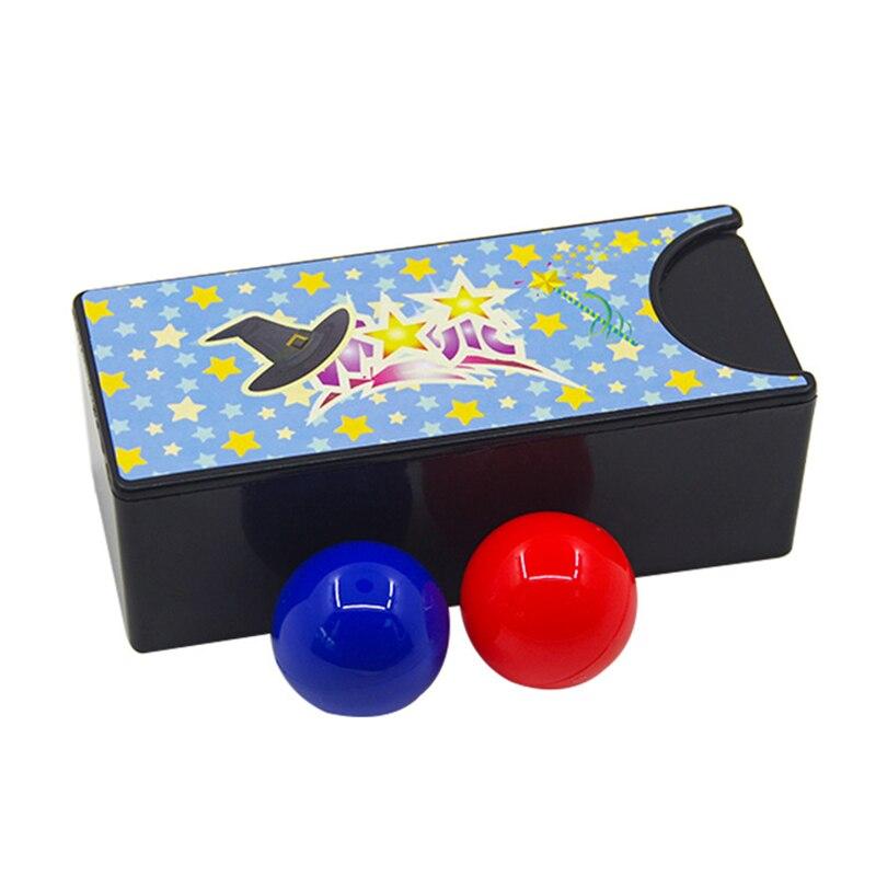 Новые игрушки сменная Волшебная коробка превращающая красный шар в синий шар Тайна Коробка для детей реквизит Классические игрушки New1