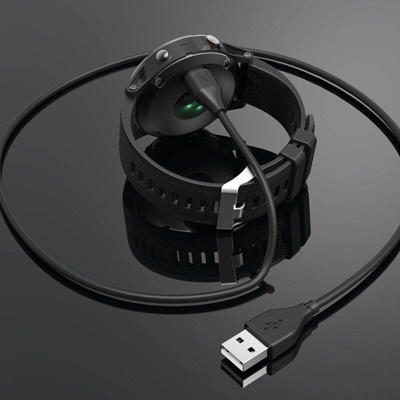 Cable de carga USB de carga rápida para Garmin Fenix 5, Garmin Fenix 5, 5S, Precursor 5X 935, Vivoactive, 3 puertos, TXTB1