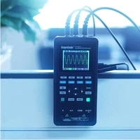 handheld oscilloscope multimeter lcd display digital 70mhz 1 with probe measuring 2ch
