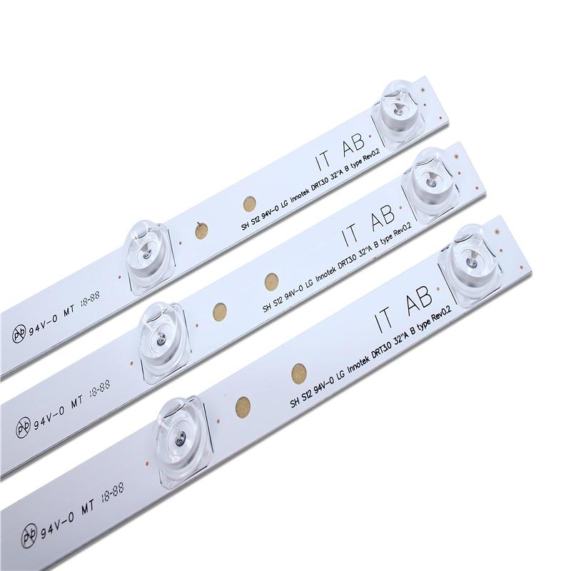 100% nouvelle 59cm LED rétroéclairage 6 lampe pour LG 32