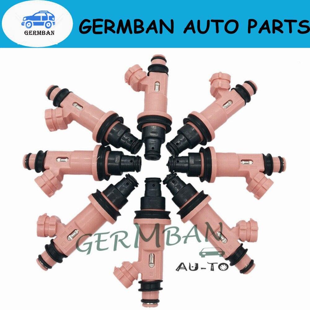 Nueva fabricación 8 Uds los inyectores de combustible 2325050030 para Toyota Lexus LS430... LS400... SC430... GS430 4.0L 4.3L 1998-2010, 23250-50030