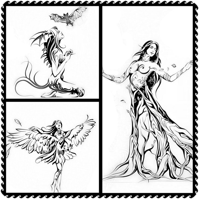 Album Woman Angel Devil Person Lace Clear Stamps   Card Craft No Metal Cutting Dies Halloween New 2021 christmas scrapbooking