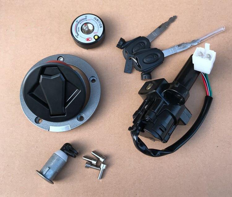 Motobike كم قفل الباب الكهربائي غطاء خزان الوقود ل Ck1 Ck150 Ck125-7e