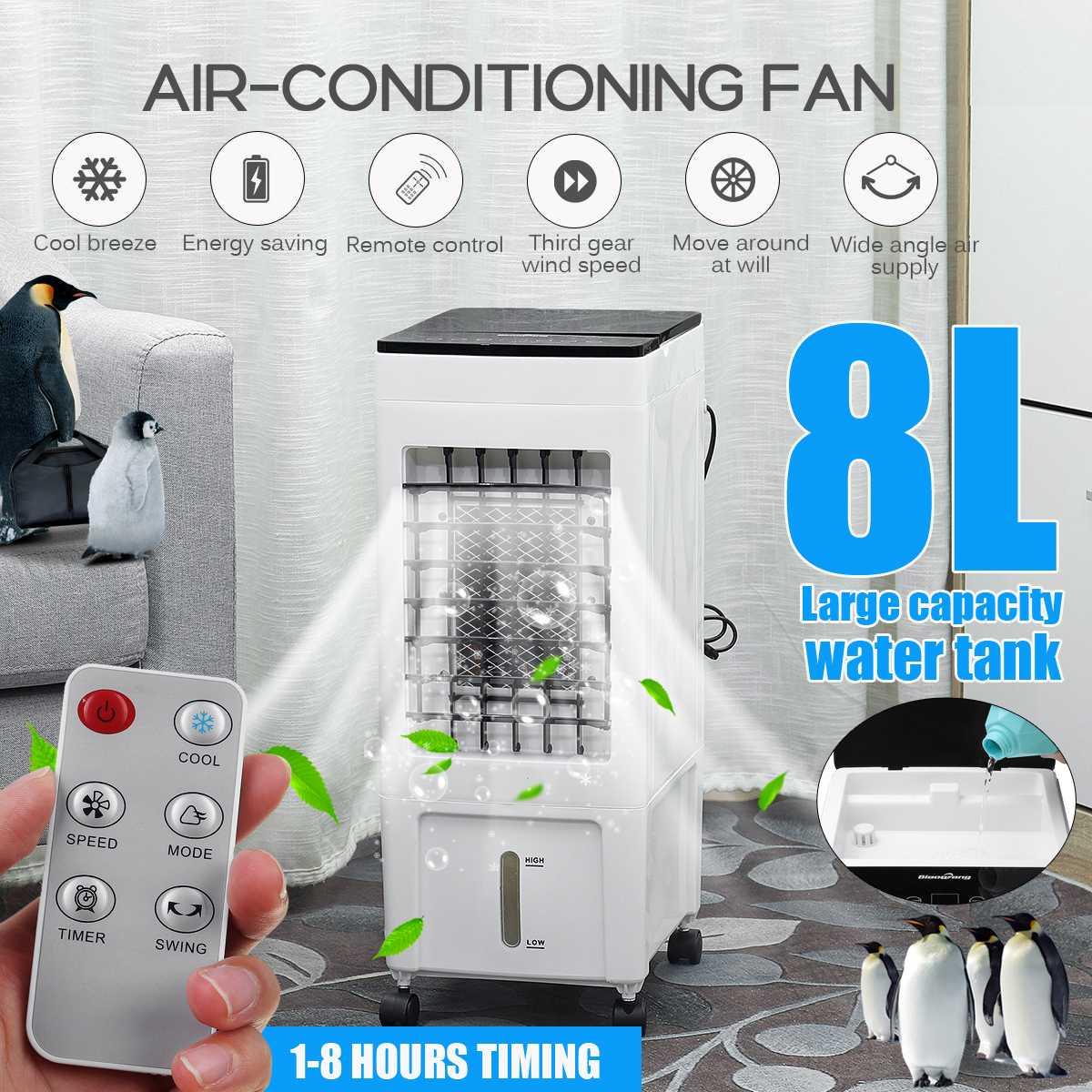 refrigerador de ar ventilador mini condicionador de ar refrigerador ventilador poderoso