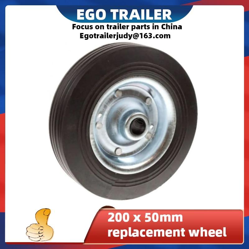 Запасное колесо Egotrailer для прицепа, колесо джоки 200x50 мм, запасное колесо, детали прицепа, аксессуары для прицепа, детали прицепа