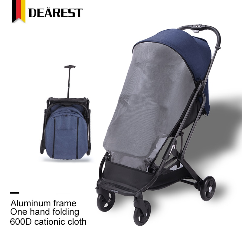 Deares 2021 New Upgrade Baby Stroller Wagon Portable Folding Baby Car Lightweight Pram Baby Carriage Travel Europe Baby enlarge