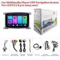 for lexus lx470 2003 2007 car accessories android multimedia player radio 10inch ips screen dsp stereo gps navigation system mp5