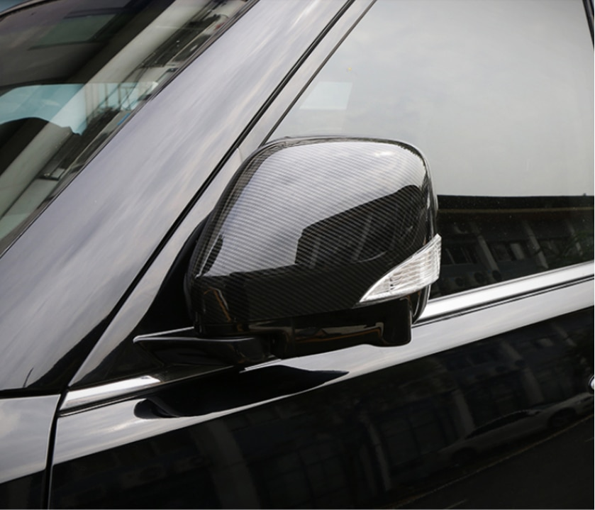 Fit For Nissan Patrol Y62 2017 2018 External Accessories Carbon Fiber Car Styling Rear View Side Mirror Cover Case Shell Trims enlarge