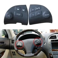 2pcs 84250 33190 c0 steering wheel switch right and left side button fit for lexus es350 2006 2008 2009 2010 2011 2012