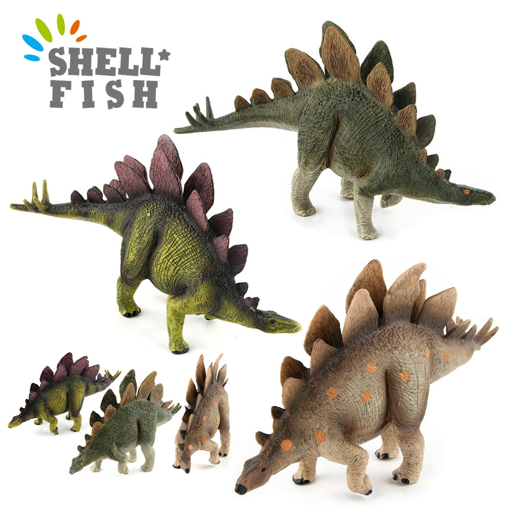 simulation pvc figure series of marine animals toys decoration new boxed toy model gift 13pcs set PVC Simulation Toys Jurassic Simulated Dinosaur Stegosaurus Action Figure Model Decoration Educational Toy For Kids Xmas Gifts