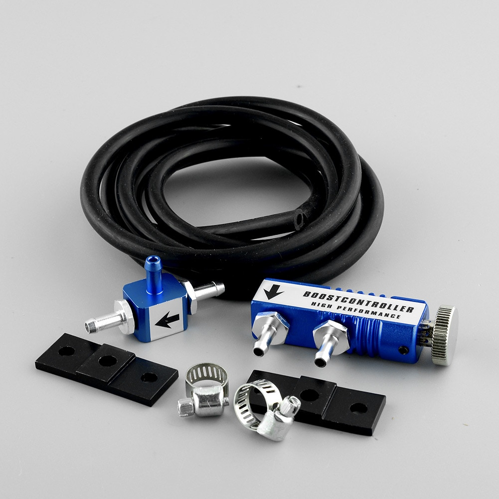 Hot Universal Blau Manuelle Turbo Boost Controller kit 1-30 PSI Einstellbar