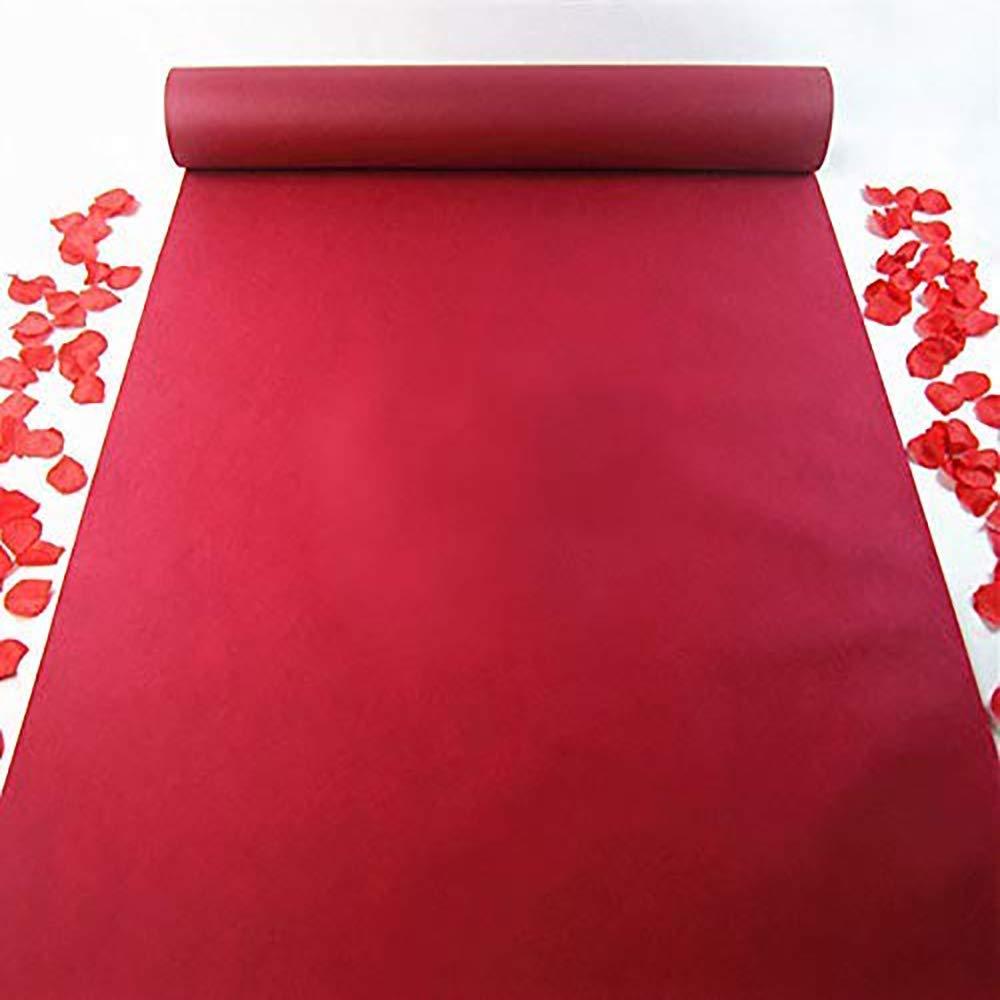 Бегуны для прохода свадебные аксессуары винно красный ковер ступенчатого