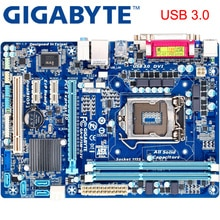 GIGABYTE GA-B75M-D3V carte mère de bureau B75 Socket LGA 1155 i3 i5 i7 DDR3 32G Micro ATX B75M-D3V dorigine utilisé carte mère H61