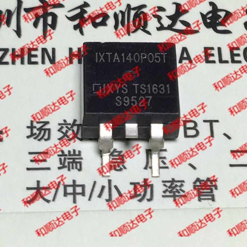10 unids/lote IXTA140P05T nuevo punto a-263 P intersección-50 V-140A