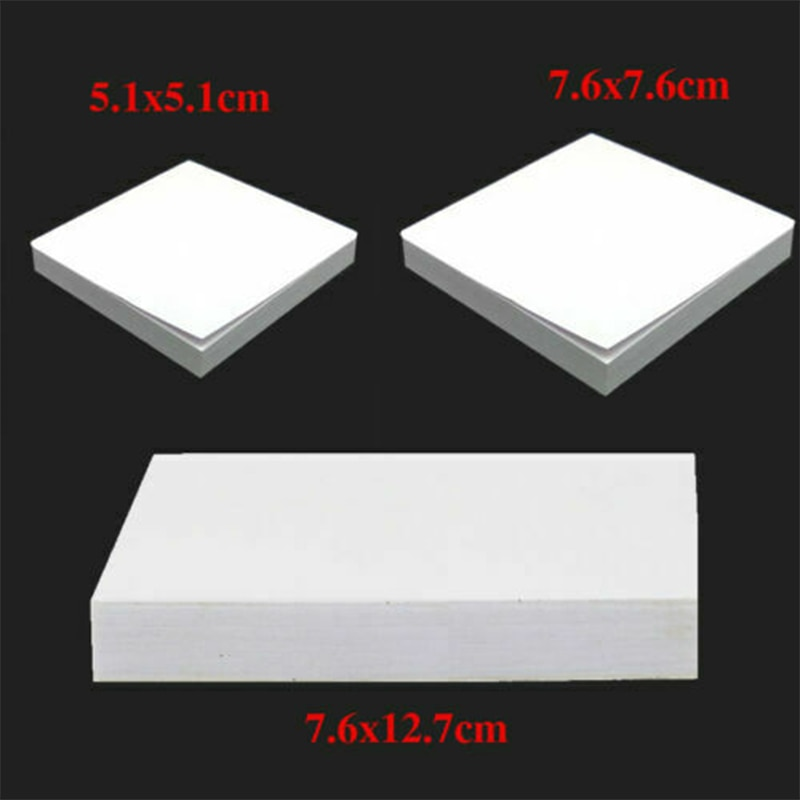 Cesoon 1 Pad Dental Disposable Mixing Pads Paper/Poly Impression Coated 2 Side S /M /L