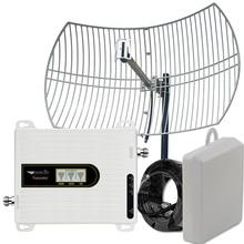 Усилитель сигнала сотовой связи Walokcon 3G/4G, 900/1800/2100, 70 дБ, 22 дБи, 8 км