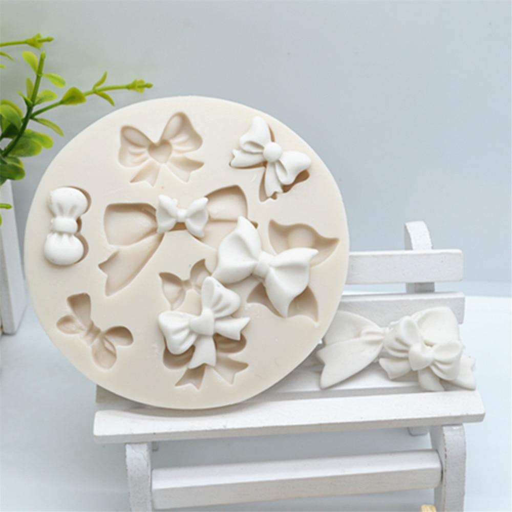 Luyou 1 шт. резиновые формы для бантов силиконовые формы для помадки инструменты для украшения торта кондитерские изделия кухонные аксессуары...