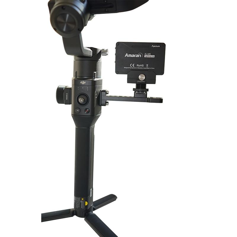 Für DJI Ronin S Zubehör Erweitert Board Halterung Legierung Externe Montieren Platte Monitor Halter Für DJI Ronin SC Handheld Gimbal