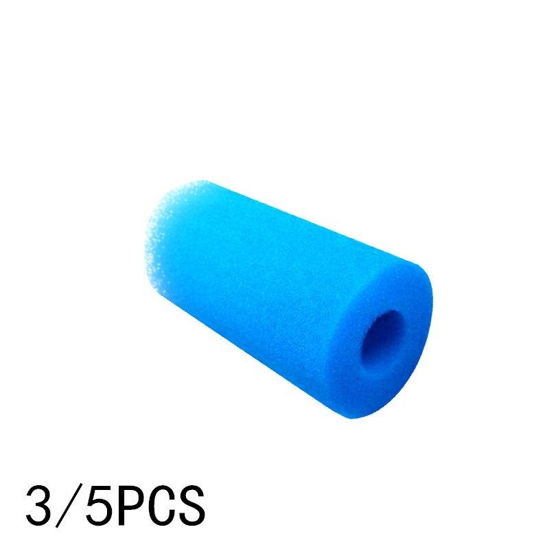 1/3/5/10PCS Schwimmen Pool Filter Schaum Reusable Für S1 Typ Pool Filter Schwamm Patrone geeignet Blase Whirlpool